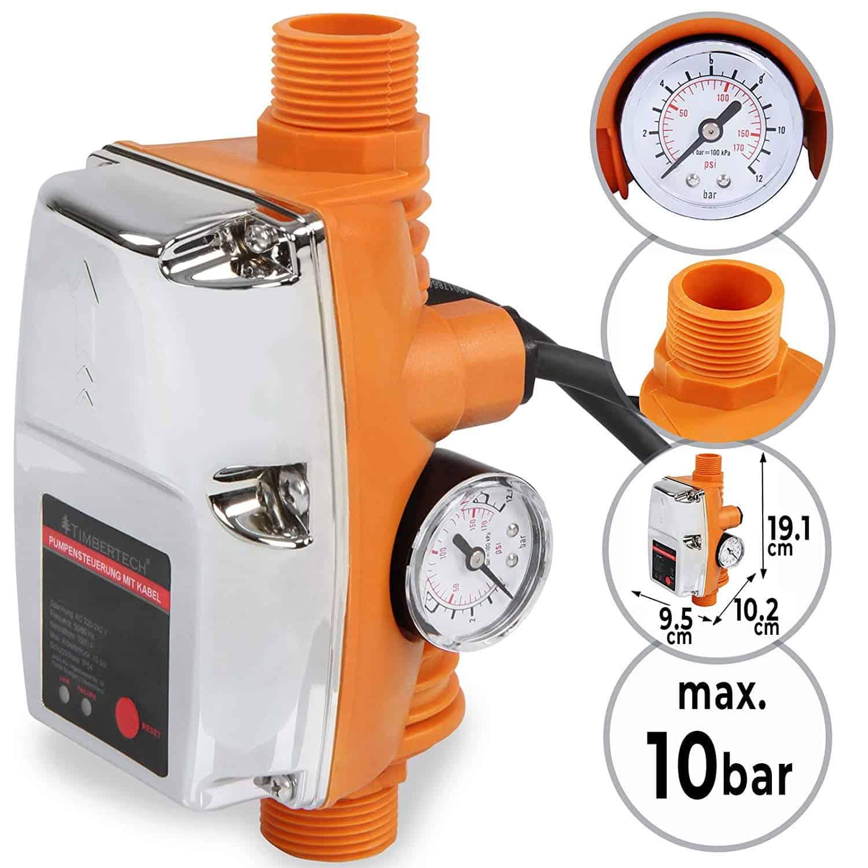 Druckschalter Pumpensteuerung AM-102 Pumpen Hauswasserwerk Druckregler AWM
