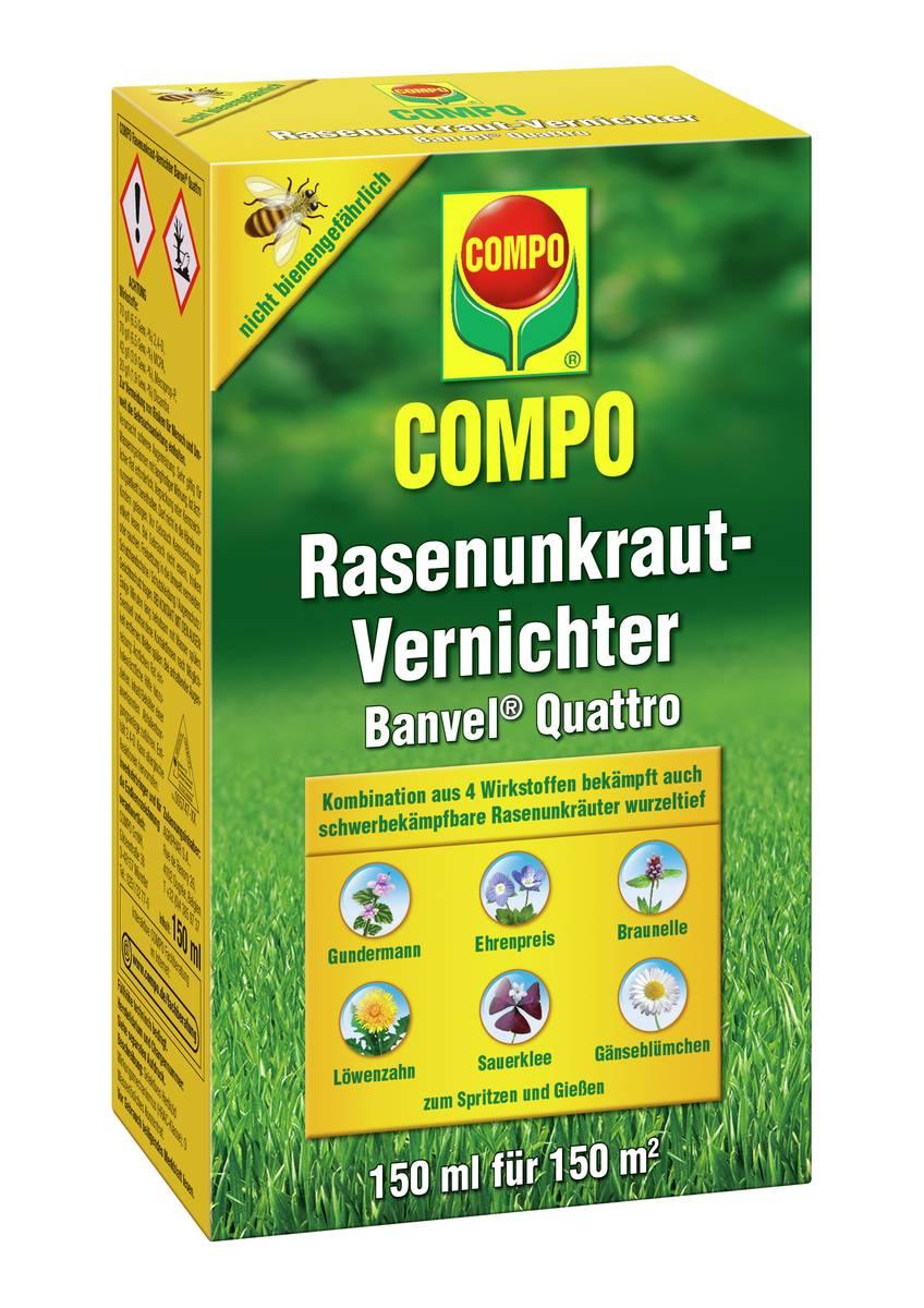 Compo Rasenunkrautvernichter Banvel Quattro - 150 ml