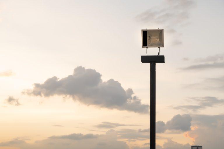 LED Außenstrahler mit Bewegungsmelder-1
