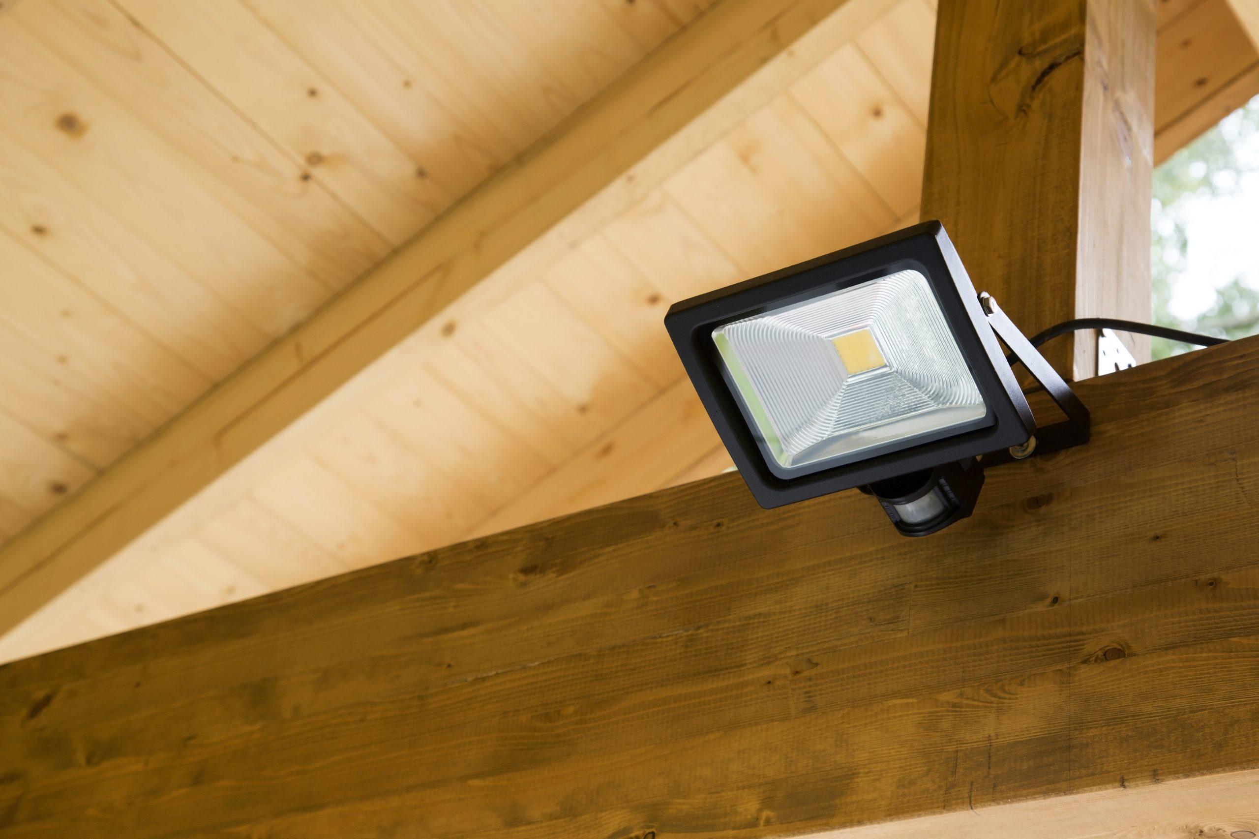 LED Außenstrahler mit Bewegungsmelder
