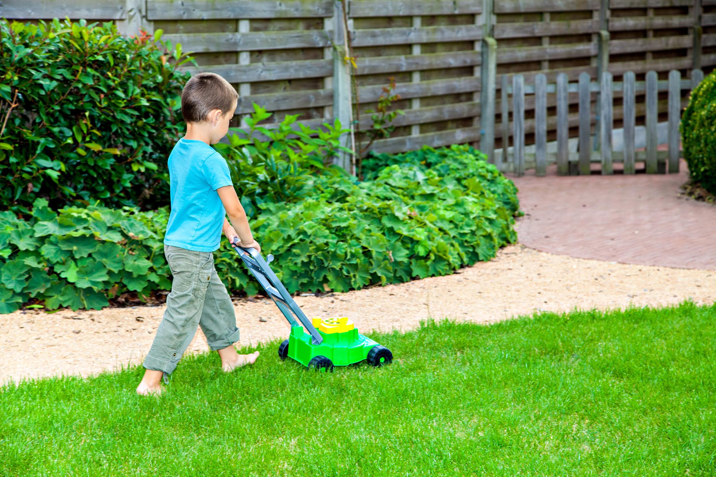 Kinder Rasenmäher
