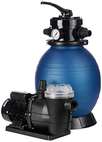 T.I.P. Schwimmbad Filter Set Sandfilteranlage SPF 250 F, bis 6.000 l/h