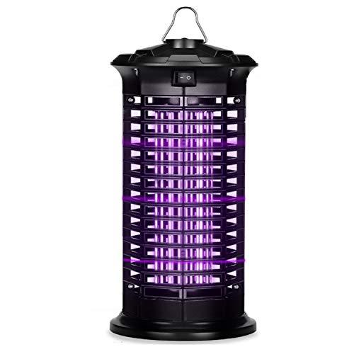 Dee Banna Elektrischer Insektenvernichter, Insektenfalle Mückenlampe mit UV-Licht, Keine giftigen Chemikalien, Geeignet für Innenräume und Gärten