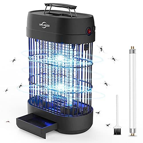 VIFLYKOO Elektrischer Insektenvernichter, Insektenfalle Moskito Killer 14w 60㎡ mit UV-Licht,Stromschlag Insektenlampe Mücken Wirksam zum Reduzieren Fliegender Insekten für Schlafzimmer, Küche, Büro